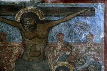 Фреска храма Светицховели